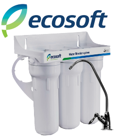 Ecosoft 3-Stage <br>Under Sink<Br> Water Filter