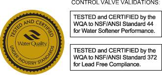 Softener Valve WQA Validation