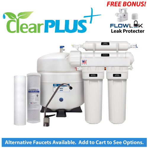 ClearPlus Premium 4-Stage Reverse Osmosis System