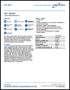 Calgon Spec Sheet