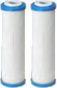 Hydronix CB-25-1010 <br>10 Micron Activated Carbon <br>Block Filter - 2 Pack