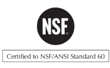 NSF/ANSI 60 Validated
