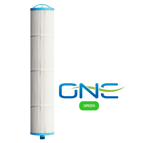 Enpress CT-20xNanoAl-PAC-AG ONE Cartridge <br>Pleated, Dual Gradient w/ NanoAl Media <br>& Carbon Block Core<br> Green Series