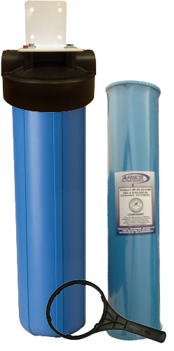 ClearPlus WH6 Whole House KDF-85 <br>Iron / Hydrogen Sulfide Filter