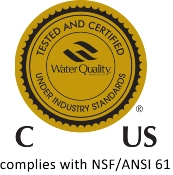NSF/ANSI 61 Validated by WQA