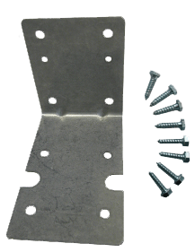 Pentek WB-ZP Zinc-Coated Mounting Bracket Kit for Big Blue <br>Part# 150061