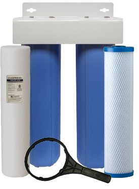 ClearPlus WH2-HF High Flow Series Premium<br>5 Micron Whole House Carbon Filter Package
