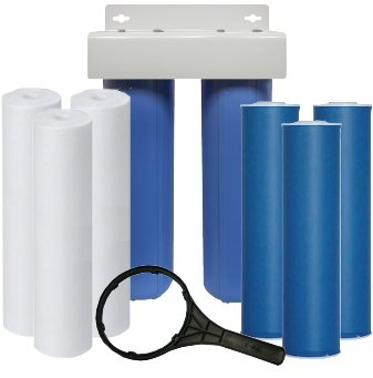Whole house water purification systems remove contaminants from all water, which enters your house. Whole house filters are shipped with additional cartridges easy to