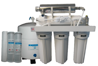 ClearPlus Premium 5-Stage <br>Reverse Osmosis System with UV