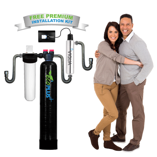ecoPLUS&#8482; EP-600-UV Premium <br>Whole House Water Filter