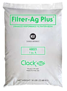 Clack Filter-Ag Plus (#A8023) <br>1 Cubic Foot Bag