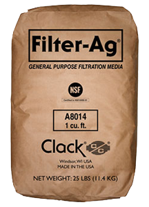 Clack Filter-Ag (#A8014)<br>1 Cubic Foot Bag