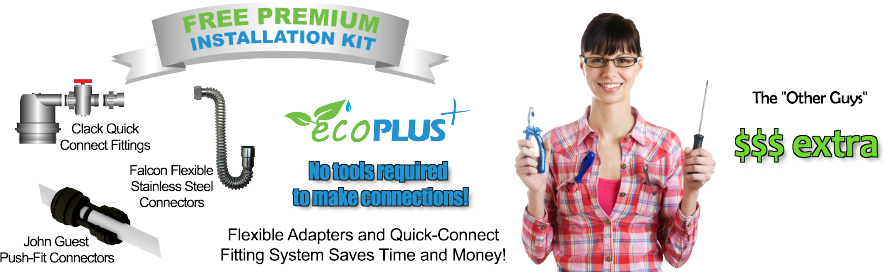 free premium installation kit