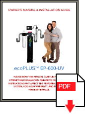 ecoPLUS EP-600-UV Installation Manual