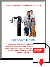ecoPLUS EP-600 Installation Manual