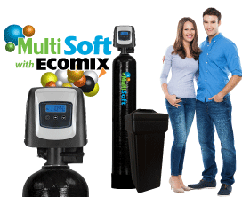 MultiSoft&#8482; Series<br>Water Softeners w/ Ecomix&reg-C