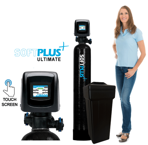 HomePlus SoftPlus™ Ultimate Series High <br>Efficiency Water Softeners w/ Touch Screen