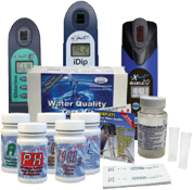Water Test Kits, <br>Equipment & Supplies