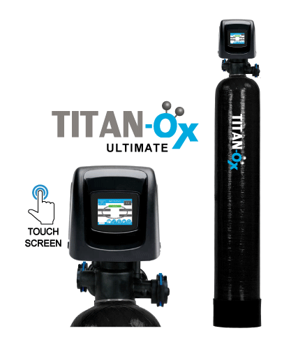 Titan-Ox&#8482; Ultimate Series MetSorb Arsenic <br>and Heavy Metal Filter System <br>w/ Touch Screen & Water Meter