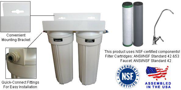 Clearplus Premium Under Sink Drinking Water Filter