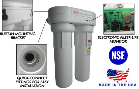 American Plumber WLCS-1000 (US Filter US-1500) under sink water filter