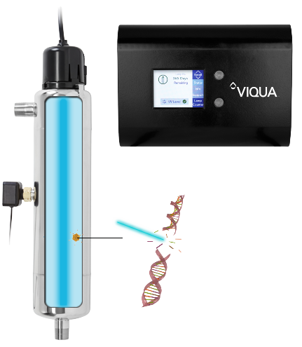 How the Viqua UVMax D4 Plus UV Sterilizer works